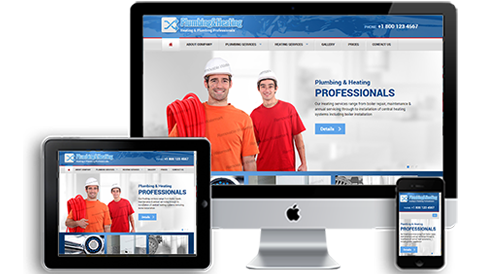 Plumber & Heating Professional Websites Design
